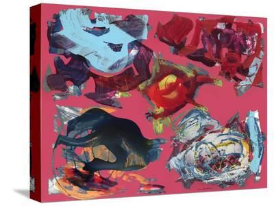 Senza titolo II-Nino Mustica-Stretched Canvas Print