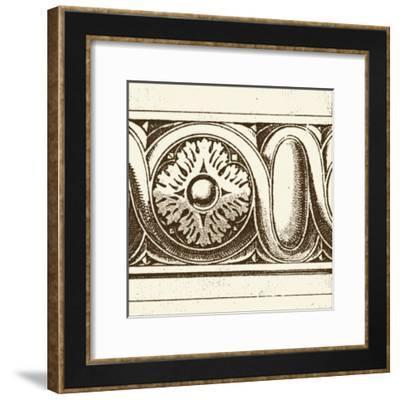 Sepia Detail V-Vision Studio-Framed Art Print