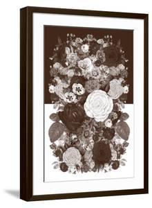 Sepia Flowerbed