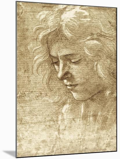 Sepia Maiden--Mounted Art Print