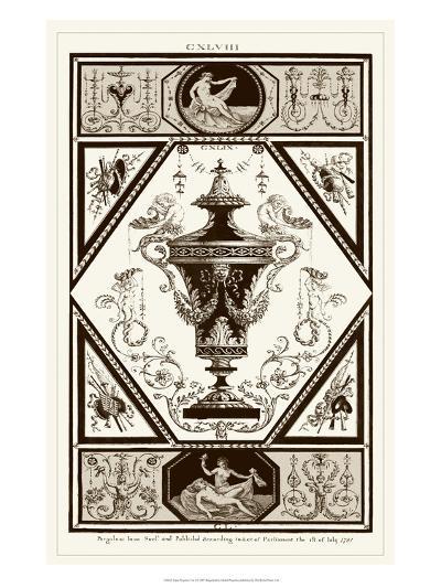 Sepia Pergolesi Urn I-Michel Pergolesi-Art Print