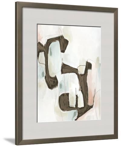 Sepia Structure I-Julie Silver-Framed Giclee Print