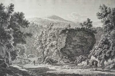 Sepolcro Di L. Cellio a Tivoli, from Malerisch Radirte Prospecte Aus Italien, 1795-Albert Christoph Dies-Giclee Print