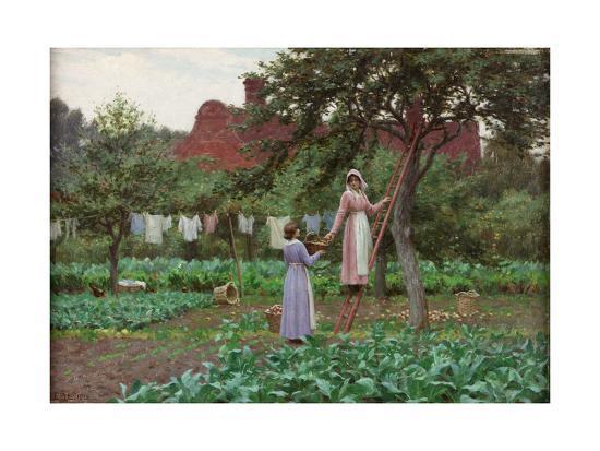 September, 1915-Edmund Blair Leighton-Giclee Print