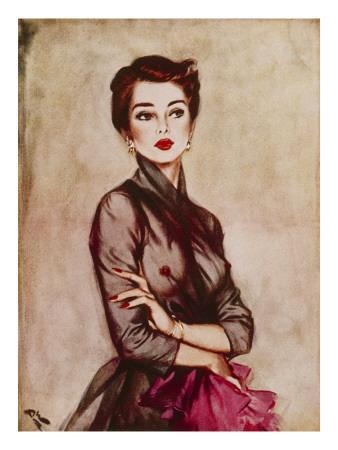 September, 1953-David Wright-Giclee Print