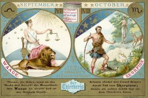September and October: Libra and Scorpio