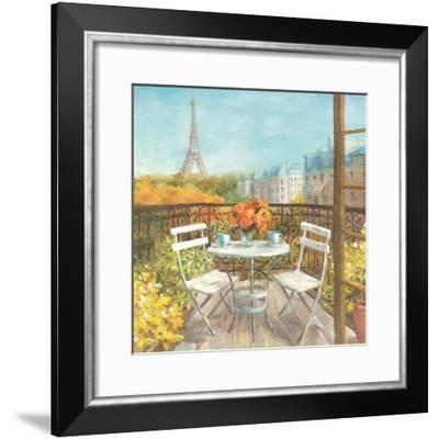 September in Paris Crop-Danhui Nai-Framed Art Print