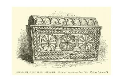 Sepulchral Chest from Jerusalem--Giclee Print