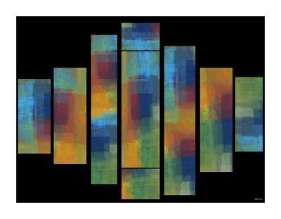 Sequential II-Michael Tienhaara-Giclee Print