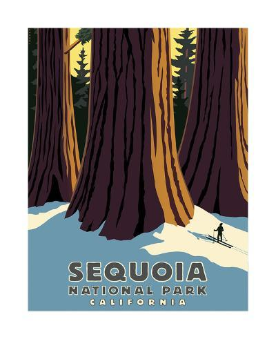 Sequoia-Steve Forney-Giclee Print