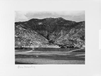 Sera Monastery, Lhasa, Tibet, 1903-04-John Claude White-Giclee Print