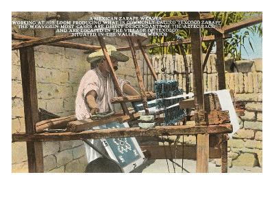 Serape Weaver, Texcoco, Mexico--Art Print
