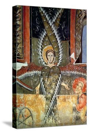 Seraphim Purifying the Lips of Isaiah, Catalan School