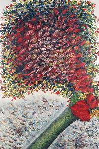 The Red Tree, 1928-30 by Seraphine Louis