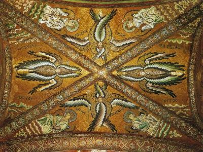 Seraphs and Angels. Mosaic of the Presbytery--Giclee Print