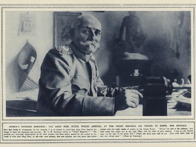 Serbia's Veteran Monarch--Photographic Print