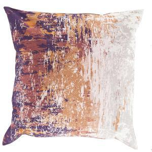 Serenade Poly Fill Pillow - Eggplant