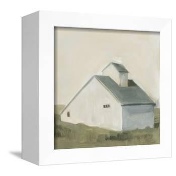 Serene Barn I-Emma Scarvey-Framed Stretched Canvas