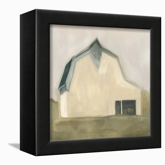 Serene Barn IV-Emma Scarvey-Framed Stretched Canvas