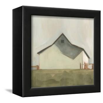 Serene Barn V-Emma Scarvey-Framed Stretched Canvas