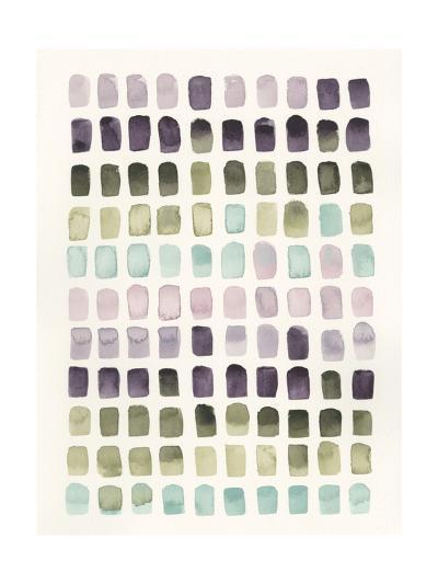 Serene Color Swatches II-Grace Popp-Art Print