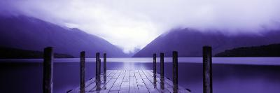Serene Dock I-Bob Stefko-Photographic Print