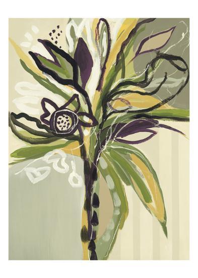 Serene Floral I-Angela Maritz-Art Print