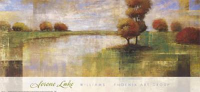 Serene Lake-Albert Williams-Art Print