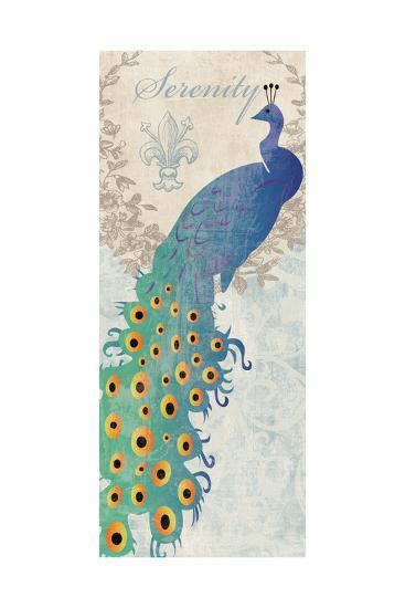 Serene Peacock-Piper Ballantyne-Art Print