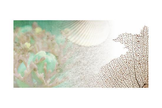Serene Photo Collage II-Irena Orlov-Art Print