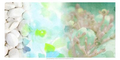 Serene Photo Collage IV-Irena Orlov-Art Print