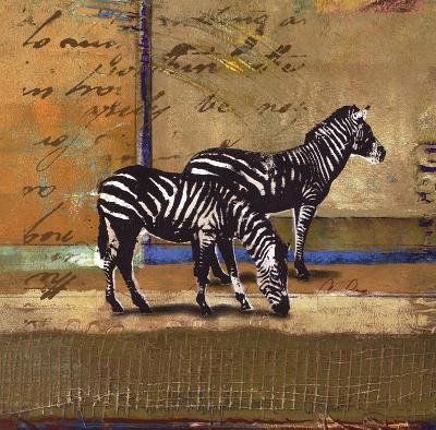 Serengeti Zebra-Fischer Warnica-Art Print