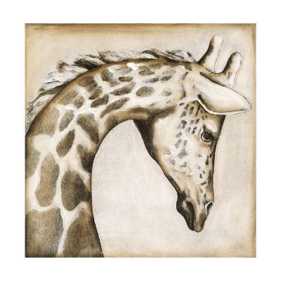 Serengetti Giraffe-Susan Hartenhoff-Premium Giclee Print
