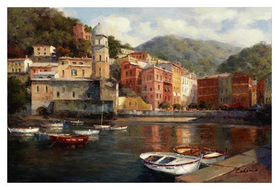 Serenity At Harbor-Catano-Art Print