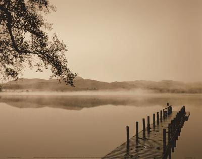 Serenity Dock-Michael Trevillion-Art Print