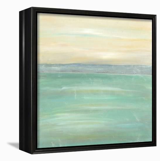 Serenity I-J^ Holland-Framed Canvas Print