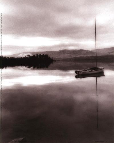 Serenity Lake I-Michael Trevillion-Art Print