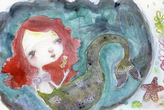 Serenity Mermaid-Mindy Lacefield-Giclee Print