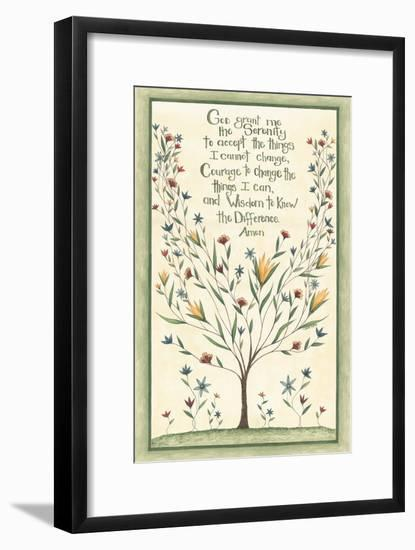 Serenity Prayer-Cindy Shamp-Framed Art Print