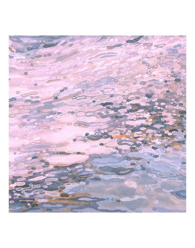 Serenity Shoreline-Margaret Juul-Art Print