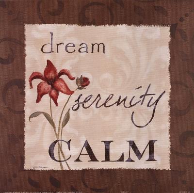 Serenity-Carol Robinson-Art Print