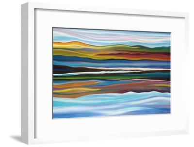 Serenity-Hyunah Kim-Framed Art Print