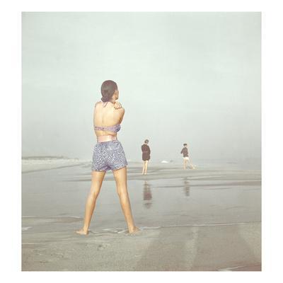Vogue - December 1946 - Beach Walk