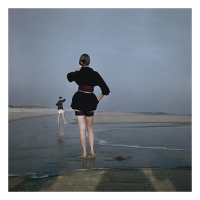 Vogue - December 1946 - Wading at Low Tide