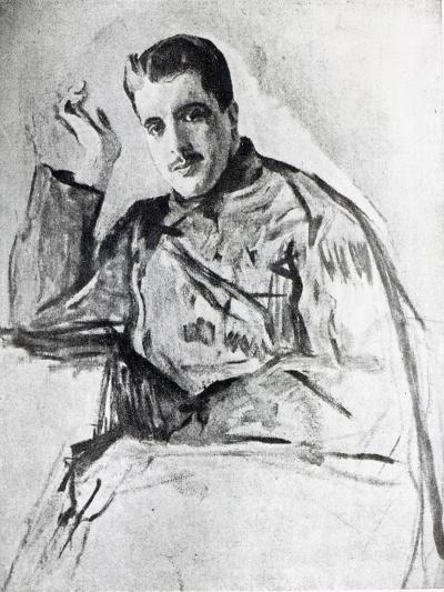 Serge Diaghilev, 1904-Valentin Aleksandrovich Serov-Giclee Print