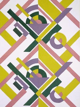 Design from 'Nouvelles Compositions Decoratives', Late 1920S (Pochoir Print)