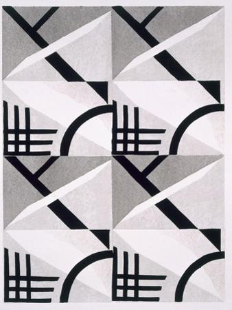 Design from 'Nouvelles Compositions Decoratives', Late 1920S (Pochoir Print) by Serge Gladky