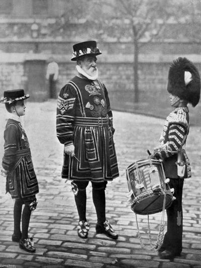 Sergeant-Major Patrick Penrose, the Yeoman Porter, London, 1896-Gregory & Co-Giclee Print