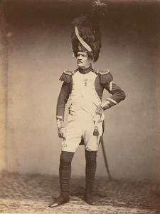 Sergeant Taria, Grenadiere De La Garde of 1809-15, 1860