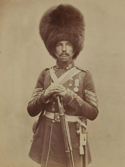 Sergeant William Powell, Grenadier Guards- Joseph Cundall and Robert Howlett-Photographic Print